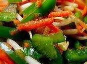 Salade légumes croquants