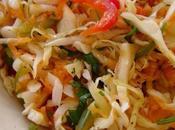 Lahanosalata salade grecque chou blanc