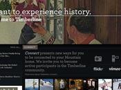 Timberline, exemple visibilité e-touristique d'ergonomie anglophone