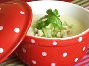 Petite cocotte veloute celeris (cru cuit), recette light