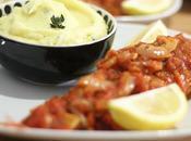 Rougets sauce tomate purée parfumée thym