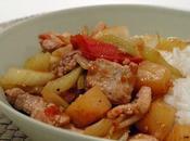 Porc ''thai''aigre-doux sans gluten