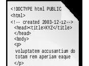 HTML lente avancée sémantique