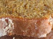 Cake ultra fondant courge, citron épices douces, glaçage acidulé