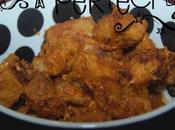 Porc pâte curry rouge
