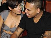 Chris Brown Rihanna enregistrent
