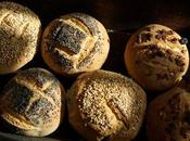 Petits pains seigle poolish graines