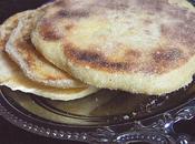 """Harcha marocaine (galette semoule) """"façon crêpes"""" retour Marrakech"""