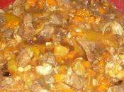 Tajine canard miel, abricots figues