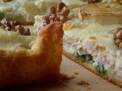 Tarte poireaux-noix avec Ricotta Tahini