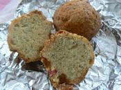 Muffins fraises pavot