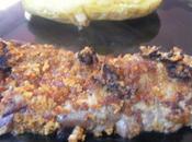 Steaks boeuf panés pain dépices