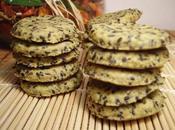 Biscuits apÉro pesto sÉsame noir