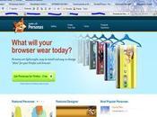 Personas plugin pour changer rapidement facilement theme dans Firefox