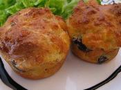 Muffins gésiers canard confits chèvre