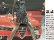 Dieng, mannequin pour Alfa Romeo