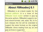 L'ePub désormais pour Google Android, avec FBReader