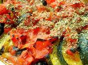 Courgettes Tomate Olives Noires