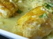 Médaillons lotte curry citron vert