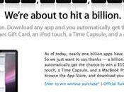 Apple Store vers milliard téléchargement, compte rebours lancé