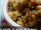 Millet cuisiné façon risotto