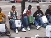 Chicago Street drummers, percussion