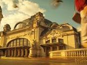 Chanel images publicité avec gare Limoges