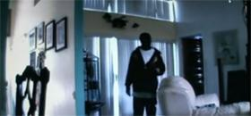 Cambriolage d'une maison filmé direct webcam