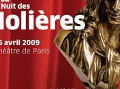 Molières 2009: nominations 23ème nuit
