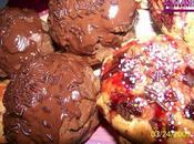Muffin's tout chocolat nature pépites .... choco!!