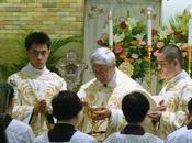 Dernière messe pontificale cardinal Zekiun dans forme extraordinaire
