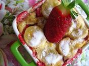 Clafoutis fraises-bananes!!!