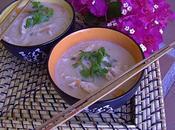 Soupe thaï poulet coco façon