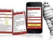 Succès pour lancement l'application restaurants guide Michelin iPhone