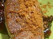 Escalope foie gras fruits rouges spéculos
