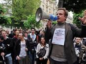 Manifestation contre Hadopi