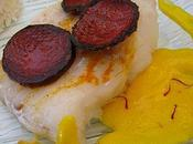 Filets julienne chorizo, sauce safranée