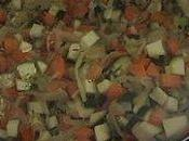 Poelee carottes poireaux courgettes