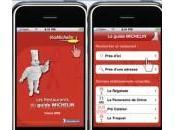 guide Michelin iPhone développe l'international