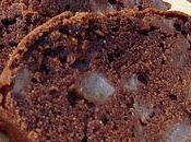 Cake cacaoté poires