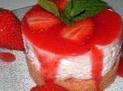 "Cheesecake ""sans cuisson"" -fraises- fève Tonka!!"