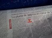 Libération encense Bayrou