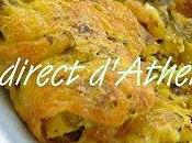 MEZES Omelette feuille vigne