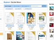 Scribd lance Store l'iTunes pour livre créateurs