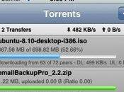 Store applis contrôle BitTorrent