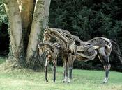 Sculptures bois flotté HEATHER JANSCH