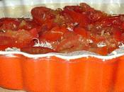 Tarte croustillante tomates basilic fromages