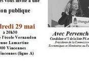 Vincennes socialistes organisent réunion publique!