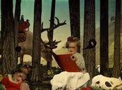 Vernissage collages graphisme romantico dark