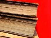 reliure renfermait fragment d'une bible Gutenberg